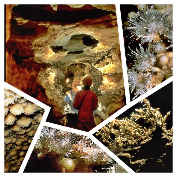Divers photos de la grotte...